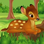 Escape Deer From Magic Funny Forest