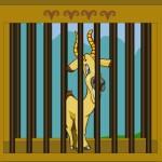 Weird Deer Escape