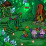 Green Fantasy Cave Escape