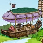 Flying Ship Escape