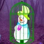 Happy Snowman Escape
