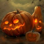 Haunting Halloween Pumpkin Escape