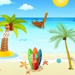 Red Sun Beach Escape