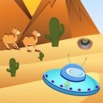 Desert Pyramids: Alien Escape