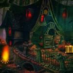 Fantasy Dark House Escape