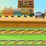 Ambulance Level Crossing Escape