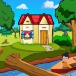 Small Boy Boat Escape Game